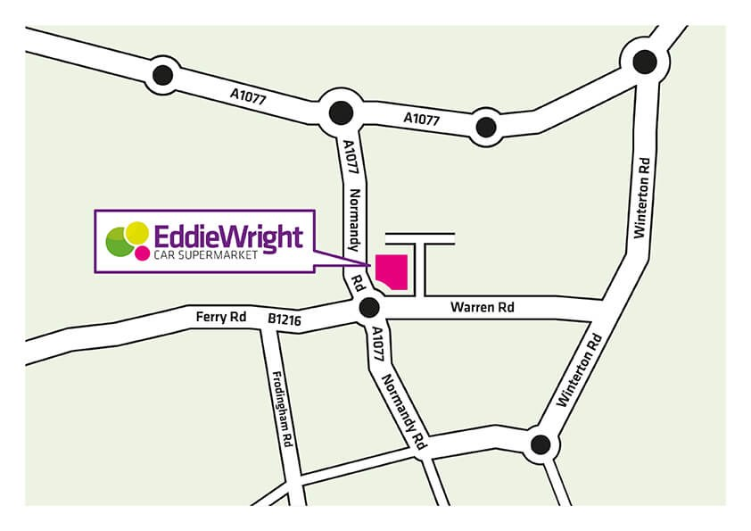 Eddie Wright location map